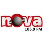 Logo da emissora Rádio Nova 105.9 FM
