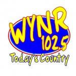 Logo da emissora WYNR 102.5 FM Today's Country