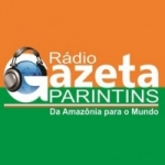 Logo da emissora Rádio Gazeta Parintins