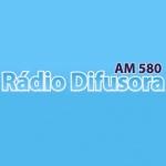 Logo da emissora Rádio Difusora 580 AM