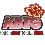 Logo da emissora KKBG 97.9 FM K-Big