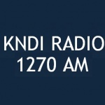 Logo da emissora Radio KNDI 1270 AM