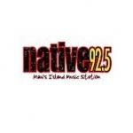 Logo da emissora KLHI 92.5 FM Native