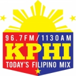 Logo da emissora Radio KPHI 96.7 FM 1130 AM