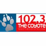 Logo da emissora Radio WRHL The Coyote 102.3 FM