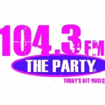 Logo da emissora WCBH 104.3 FM The Party