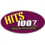 Logo da emissora WWHX 100.7 FM Hits