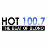 Logo da emissora WWHX 100.7 FM Hot