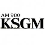 Logo da emissora Radio KSGM 980 AM
