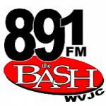 Logo da emissora Radio WVJC The Bash 89.1 FM