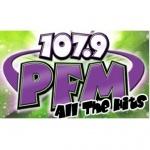 Logo da emissora WPFM 107.9 FM