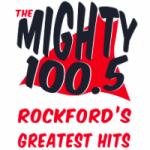 Logo da emissora Radio WXRX The Mighty 100.5 FM