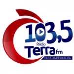 Logo da emissora Rádio Terra 103.5 FM