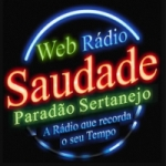 Logo da emissora Rádio Web Saudade Bauru