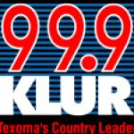 Logo da emissora KLUR 99.9 FM