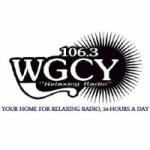 Logo da emissora Radio WGCY 106.3 FM