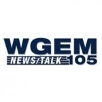 Logo da emissora Radio WGEM 105.1 FM