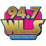 Logo da emissora Radio WLS 94.7 FM