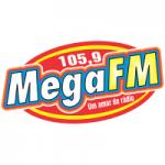 Logo da emissora Rádio Mega Fortaleza