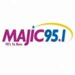 Logo da emissora Radio WAJI Majic 95.1 FM