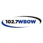 Logo da emissora Radio WBOW 102.7 FM