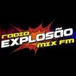 Logo da emissora Rádio Explosão Mix FM