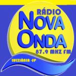 Logo da emissora Rádio Nova Onda FM 87.9 FM