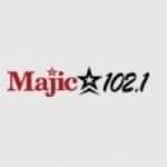 Logo da emissora KMJQ 102.1 FM