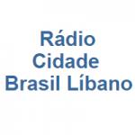 Logo da emissora Rádio Cidade Brasil Líbano