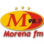 Logo da emissora Rádio Morena FM 98.7