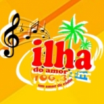 Logo da emissora Rádio Ilha do Amor 106.3 FM