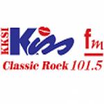 Logo da emissora Radio KKSI Kiss FM 101.5