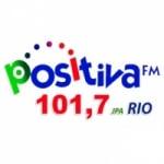 Logo da emissora Rádio Positiva Rio FM