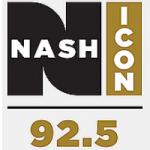 Logo da emissora Radio KJJY Nash 92.5 FM