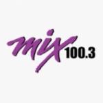 Logo da emissora KMMX 100.3 FM