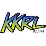 Logo da emissora Radio KKRL 93.7 FM