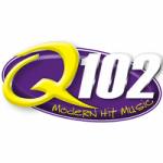 Logo da emissora Radio KQNU Q102 102.3 FM