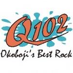 Logo da emissora Radio KUQQ Q102 102.1 FM