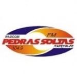 Logo da emissora Rádio Pedras Soltas 104.9 FM