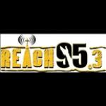 Logo da emissora Radio WFBR Reach 95.3 FM