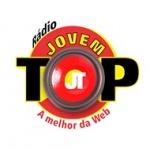 Logo da emissora Rádio Jovem TOP