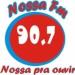 Logo da emissora Rádio Nossa FM 90.7