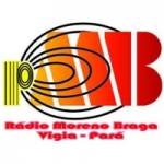 Logo da emissora Rádio Moreno Braga 1470 AM