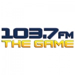 Logo da emissora Radio KLWB The Game 103.7 FM