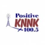 Logo da emissora KNNK 100.5 FM