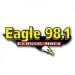 Logo da emissora Radio WDGL Eagle 98.1 FM