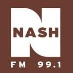Logo da emissora Radio KXKC Nash 99.1 FM