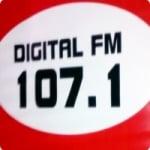 Logo da emissora Rádio Digital 107.1 FM