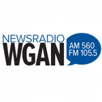 Logo da emissora Radio WGAN Newsradio 560 AM
