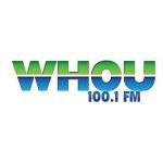 Logo da emissora Radio WHOU 100.1 FM